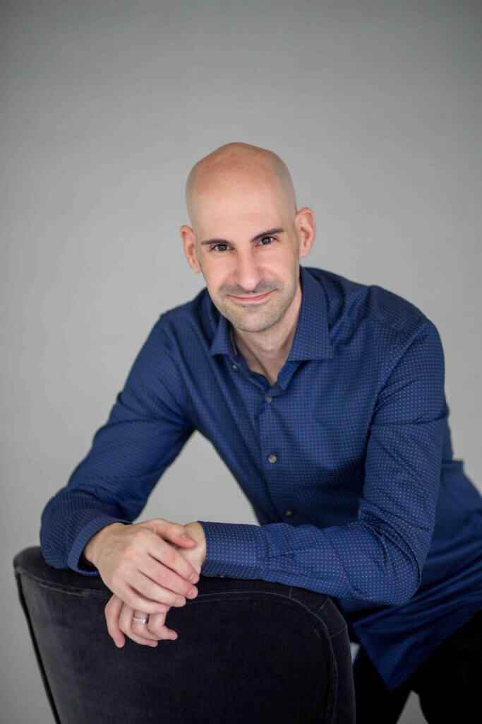 Javi Vicente, copywriter médico y de salud
