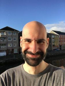 Javi Vicente en Movember 2018